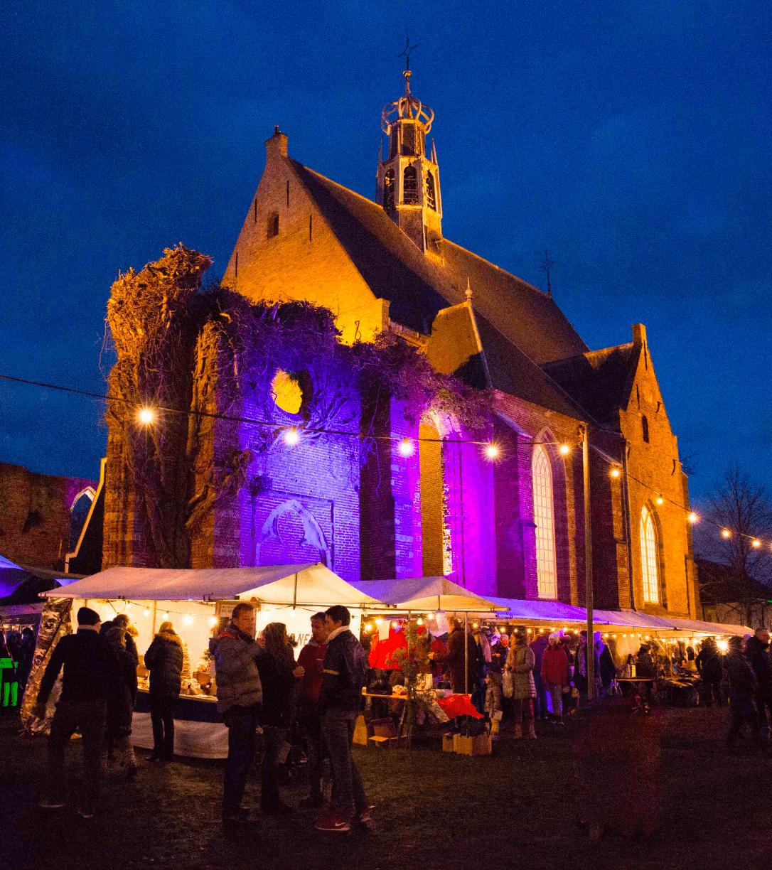 Kerstmarkt Bergen Zondag 8 December 2018